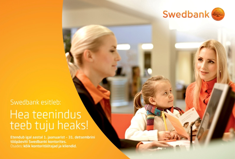 Client: Swedbank, Photographer: Margus Johanson